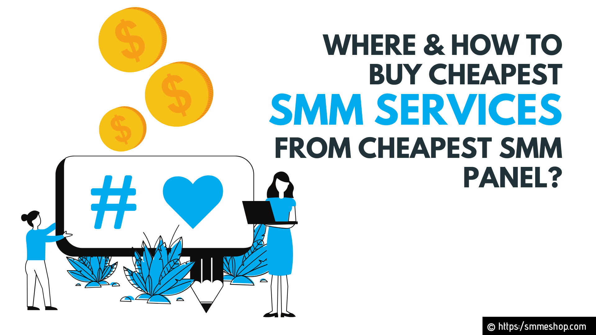 Where & How to Buy Cheapest SMM Services from Cheapest SMM Panel?