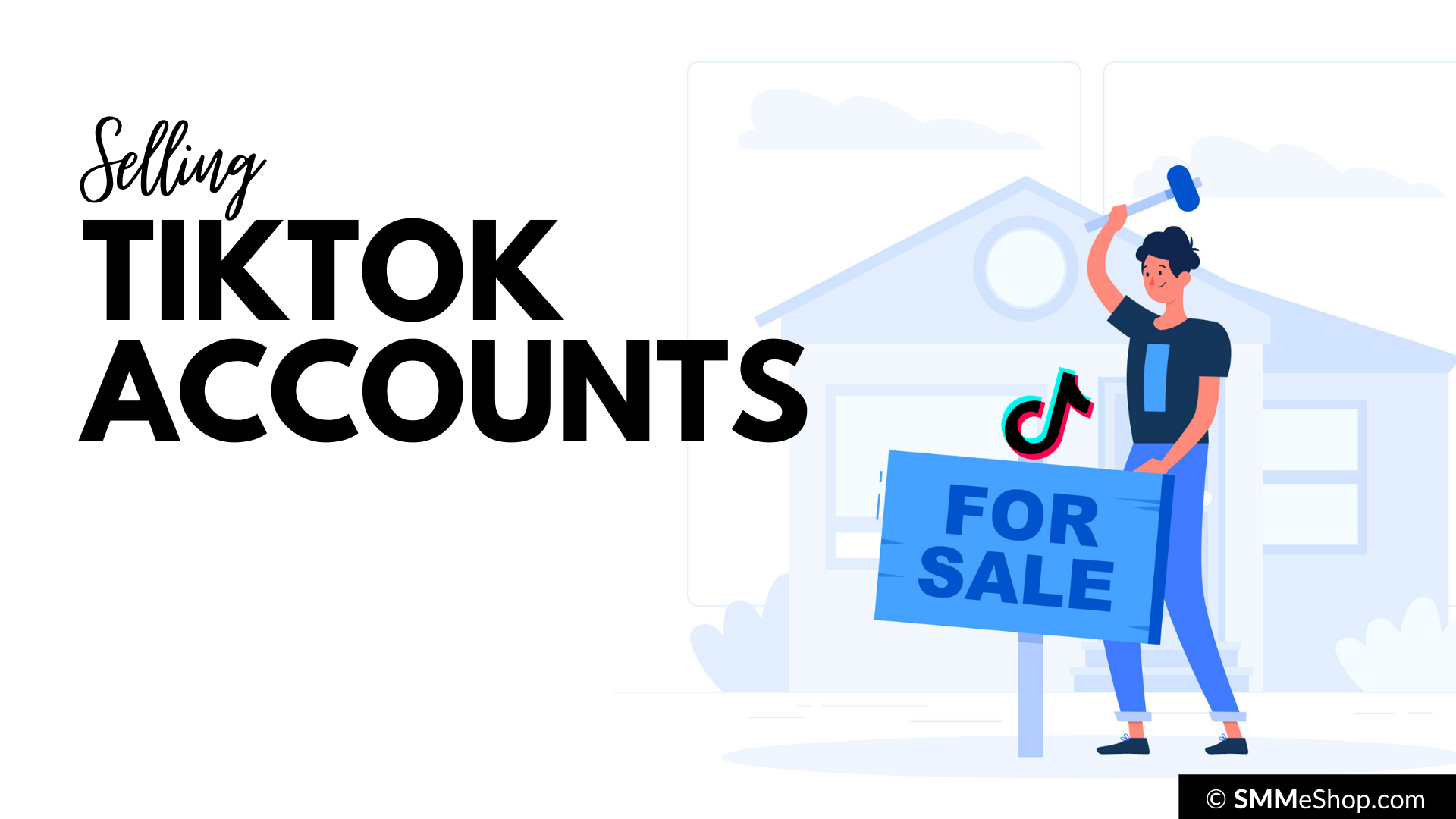 You can make money from TikTok by Growing Accounts and then Selling Them.